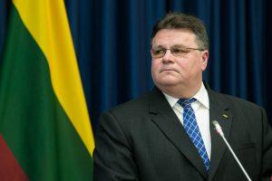L. Linkevičius: tautinių mažumų priekaištai neturėtų kelti įtampos su Lenkija