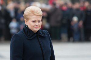Metų žmogus – prezidentė D. Grybauskaitė