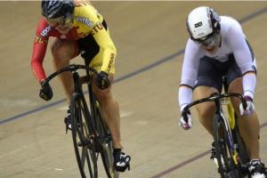 Planetos dviračių treko taurės varžybų sprinte S. Krupeckaitė liko aštunta
