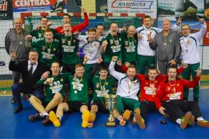 Kauniečiai Baltijos vyrų rankinio lygos ketvirtfinalį pradėjo pergale