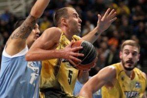 T. Delininkaitis svariai prisidėjo prie pergalės Graikijos vyrų krepšinio lygoje