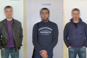 Iš Baltarusijos nelegaliai atėję čečėnai atsidūrė areštinėje