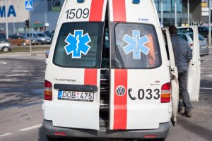 Per avariją Panevėžio rajone sužalotas žmogus