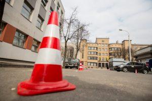 Dėl filmavimo Kauno centre – parkavimo ribojimai