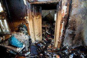 Biržų kaime gaisras nusinešė moters gyvybę