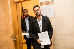Kauno teismas uždraudė chuliganams užsieniečiams naktį išeiti į miestą