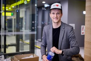 Kauno mero atstovas spaudai T. Grigalevičius vadovauja ir knygynui
