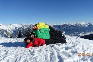 Iš Austrijos kalnų – kauniečių linkėjimai Lietuvai