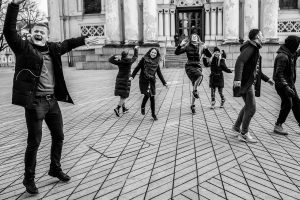 """""""Kaunas šoka"""" organizatoriai: jeigu Kaunas tvarkosi, kodėl jis dar nešoka?"""