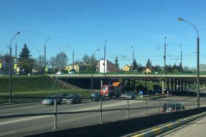Tvirtovės alėjoje – trijų automobilių avarija