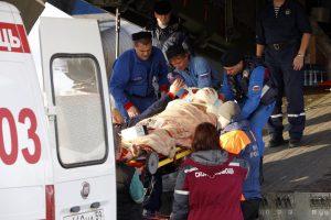 Sankt Peterburge automobilis užlėkė ant žmonių, keturis sužeidė