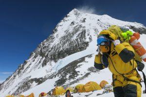 Prie Everesto stovyklos mirė australų žygeivis