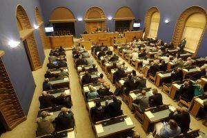 Estijos prezidentą mėgins išrinkti Rinkikų kolegija