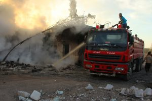 Ataka Sirijos klinikoje pasiglemžė keturių medikų gyvybę
