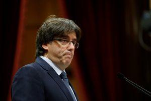 Kitąmet Katalonija organizuos referendumą dėl nepriklausomybės