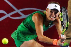 Oklando turnyre C. Wozniacki nusileido vokietei
