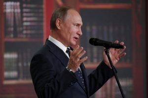 V. Putinas: Rusijos ribos nesibaigia