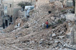 Šiaurės rytiniuose Alepo rajonuose Sirijos sukilėlių neliko