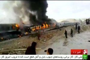 Per traukinių avariją Irane žuvo 31 žmogus
