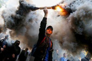 Rytų Ukrainos gyventojai įpranta prie karo košmaro