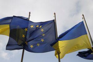 Ukrainiečiai bevizio režimo į ES sulauks vasarą