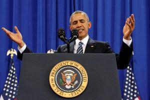 B. Obama atšaukė draudimą tiekti ginkluotę Sirijai