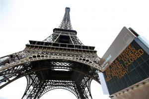 Dėl darbuotojų streiko uždarytas Eifelio bokštas