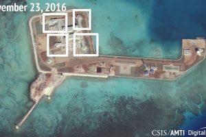 Kinija ginkluojasi Pietų Kinijos jūroje?