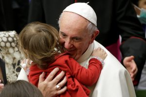 80-ąjį gimtadienį švenčiantis popiežius nelėtins tempo