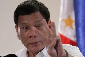 Filipinų prezidentas grasina karo padėtimi