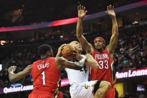 """Be D. Motiejūno žaidęs """"Pelicans"""" patyrė pralaimėjimą"""