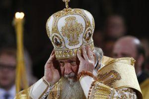 Rusijos patriarchas Kirilas paprašė atleidimo