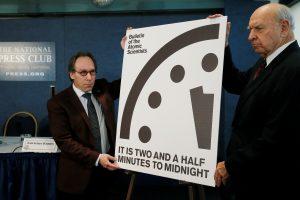Pasaulio pabaigos laikrodis pasuktas 30 sekundžių arčiau vidurnakčio