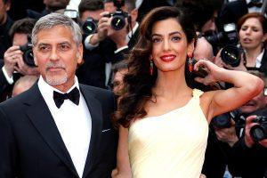 G. Clooney žmona laukiasi dvynukų