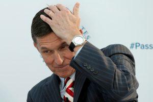 D. Trumpas apie M. Flynno darbą užsienio valstybei nežinojo?