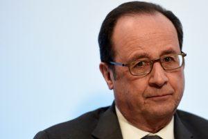 D. Trumpas sulaukė Prancūzijos prezidento atkirčio
