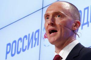 D. Trumpo rinkimų patarėjas dirbo Rusijai?