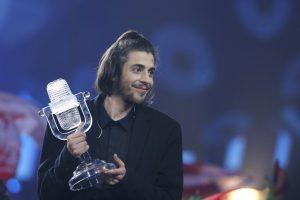 """Portugalas S. Sobralis – šiųmetės """"Eurovizijos"""" nugalėtojas"""