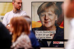 """A. Merkel pradeda """"keisčiausią"""" kampaniją Vokietijos istorijoje"""