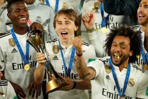 """Ketvirtą kartą: Madrido """"Real"""" iškovojo FIFA pasaulio klubų taurę!"""