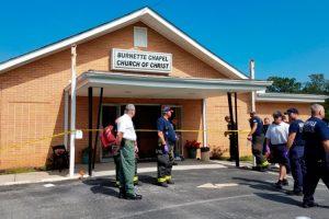 Išpuolis Tenesio bažnyčioje: nužudyta moteris, dar šeši sužeisti