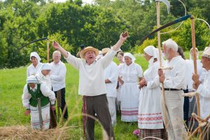Oninių šventė Rumšiškėse – ir linksmai, ir sočiai