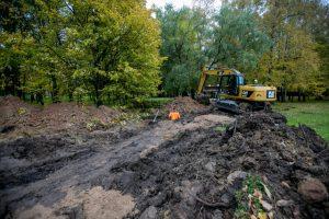 Kaune pradedamas rekonstruoti dar vienas parkas