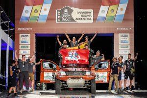 Ant Dakaro podiumo užlipęs A. Juknevičius: buvome subrendę rezultatui
