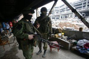 Per susirėmimą Ukrainoje žuvo penki vyriausybės kariai