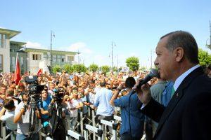 Vokietija privalės pasiaiškinti dėl netransliuotos Turkijos prezidento kalbos
