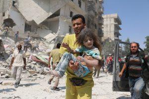 Per metus Rusijos bombardavimai Sirijoje pražudė per 4 tūkst. civilių