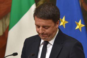 Postą paliekantis Italijos premjeras kalba apie išankstinius rinkimus