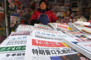 Kinijos žiniasklaida siunčia griežtą įspėjimą D. Trumpui
