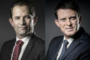 Prancūzijos pirminių rinkimų antrąjame ture – B. Hamonas ir M. Vallsas